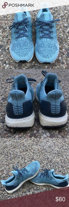8f97eaefc Adidas Ultra Boost Size 10.5 Adidas ultra boost sky blue and navy blue.  Great condition