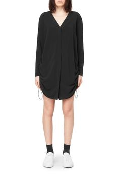 Weekday image 2 of Part Shirt Dress in Black
