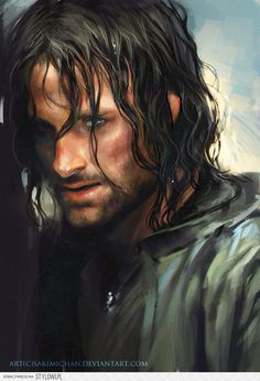 Aragorn by *sakimichan on deviantART na Stylowi.pl