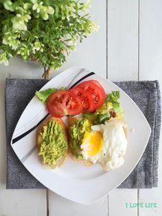I LOVE LIFE - blog kulinarny Love Life, Avocado Toast, Breakfast, Fit, Blog, Morning Coffee, Shape, Blogging