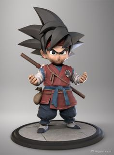 ArtStation - Kid Goku, Lim Philippe