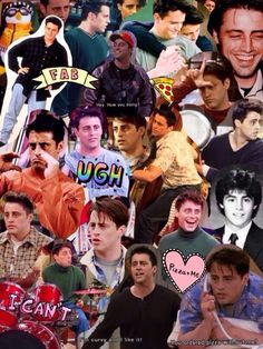 ☆ pin: ☆ - Wallpaper World Joey Friends, Serie Friends, Friends Cast, Friends Moments, I Love My Friends, Friends Tv Show, Friends Forever, My Best Friend, Best Tv Shows