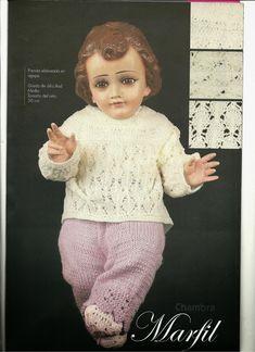 teje vestido de niño dios  a gancho esquemas  y patrones