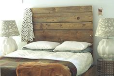 Headboard. From the Living With Kids Home Tour featuring Kirsten Grove.