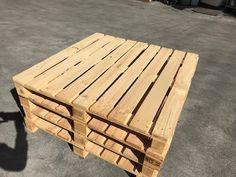 中古木製パレット 1130x1130x135~140 再入荷致しました!      比較的キレイ目ですので、ベッド用にも使って頂けます! *
