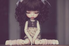 New wig and eyes for Trisha | Flickr - Photo Sharing!