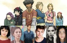 Marvel's Runaways Cast Revealed!