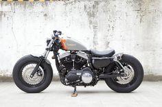 harley davidson bobber | Harley Davidson bobber « makineira
