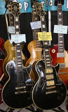 1956 & 1957 Gibson Les Paul Customs