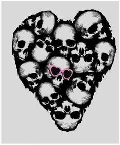 Skull heart! ❤