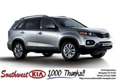 https://flic.kr/p/FaB5Pg | Congratulations Brenda on your #Kia #Sorento from Jarod Mizell at Southwest Kia Mesquite! | deliverymaxx.com/DealerReviews.aspx?DealerCode=VNDX