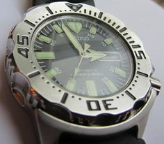 #Seiko Black #Monster SKX779 #duikershorloge.