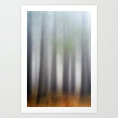 The forest Art Print by rafael belda - $17.00