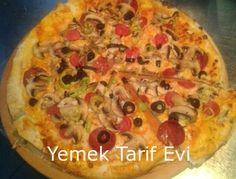 Kolay Tortilla (Lavaş) Pizza Tarifi Çocukların sevgilisi pizzayı ev rahatlığında ve hamur hazırlama derdi olmadan yapın. #pizzarecipe #easypizza #tortilla #pizza #tarifi #recipe #yemektarifevi #lavaspizza
