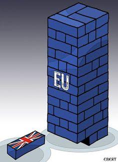 """ITALIAN COMICS - Brexit Story, ovvero """"in democrazia anche i coglioni votano""""… #IoSeguoItalianComics #Satira #Politica #Comics #Humor #Italy #Brexit #Story #Europe #UK #Europa #RegnoUnito #Eu #Future"""