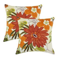 Lilith Marigold Cotton Throw Pillow