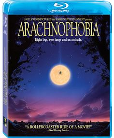 ARACHNOPHOBIA Movie on Blu-ray Review - Eight Legs, Two Fangs in HD