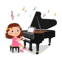 Kennismaken met muziek in de onderbouw - Onderwijswereld-PO Kids Cartoon Characters, Cartoon Kids, Playing Piano, Boys Playing, Art Drawings For Kids, Drawing For Kids, Music Lessons For Kids, Music Illustration, Kids Class
