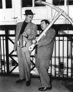They make me LAUGH-- and LAUGH-- and LAUGH!!!!  Abbott and Costello