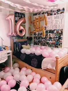 VSCO - thanks besties💞💞🤩🤩 | aswex12 follow: @carlyyburnss Birthday Room Surprise, Birthday Goals, Cute Birthday Gift, Birthday Party For Teens, Birthday Gifts For Best Friend, 14th Birthday, Diy Birthday, Birthday Surprises, 16 Birthday Presents