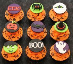 Cupcakes para Halloween variados