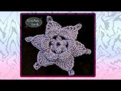 Free pattern: Crochet Flower WaterColors