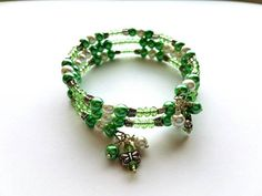 Hey, I found this really awesome Etsy listing at https://www.etsy.com/listing/289349431/memory-wire-bracelet-with-spring-green