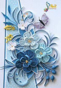 Neli Quilling Art: Quilling cards                              …                                                                                                                                                     More