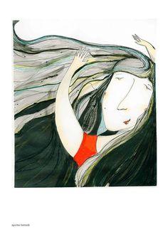 """Ilustración para la expo """"El día de la dona"""". """"Escola de la dona francesca bonnemaison"""" 2013."""