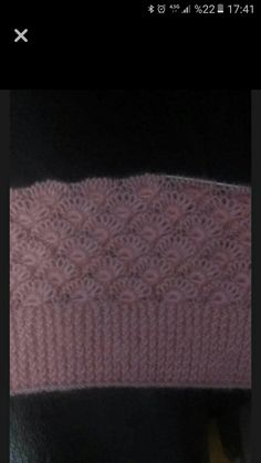 Discover thousands of images about This Pin was discovered by Rez Diy Crafts Knitting, Easy Knitting Patterns, Knitting Designs, Crochet Projects, Stitch Patterns, Crochet Patterns, Knitting Daily, Lace Knitting, Knitting Stitches