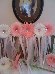 Garden Fairy wands as craft for themed party.