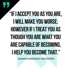What you are capable of becoming...