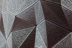 UTS Great Hall by DRAW.  The perforated geometry of the Great Hall was developed with AR-MA via a detailed parametric model.
