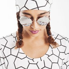 Cat Eye Sunglasses, Mirrored Sunglasses, Korean Streetwear, Drop Crotch Pants, Street Wear, Collections, Street Style, Outfits, Clothes