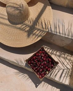 summer things 🍒 via . Beige Aesthetic, Summer Aesthetic, Aesthetic Rooms, Summer Feeling, Summer Vibes, Summer Things, Summer Sunset, Aesthetic Pictures, Sun Hats