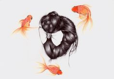 Cultura Inquieta - Ilustraciones minimalistas por Peony Yip