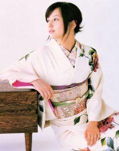 Maki Horikita #kimono