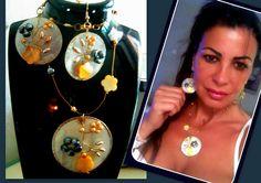 Nacre et véritables perles Parure : Parure par camelys-bijoux