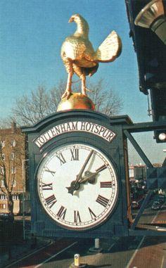 The famous Cockerel on the Clock  White Hart Lane