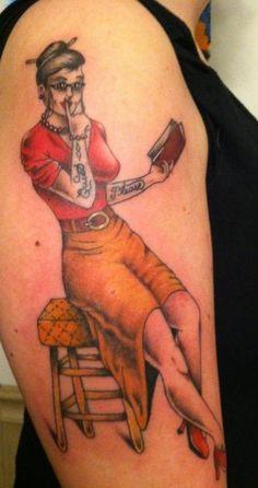 13 More Wonderful Librarian Tattoos | Mental Floss