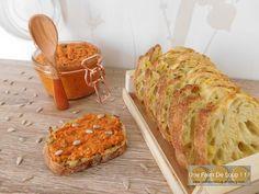 Rillettes de chorizo - Une Faim De Loup ! ! ! Baked Potato, Entrees, Banana Bread, Potatoes, Baking, Ethnic Recipes, Desserts, Cocktails, Butter
