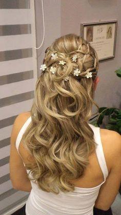 Fantastic suggestions for long hair by Olga Salon, Patras, Greece!