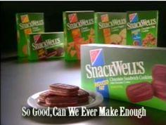 SnackWells, tastes like childhood! #memories #childhood #90s