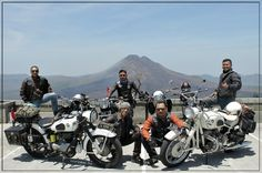 Classic BMW Owner of Indonesia - Batur's mountain Bali 2014