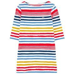 Striped cotton dress - 150269