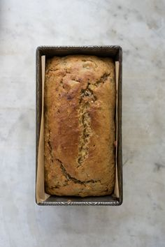 One Bowl Banana Bread - This is the recipe you want if you're craving classic banana bread flavor and texture, but want as little mess, drama, and equipment as possible.