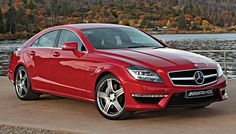 The latest version of the CLS63 AMG is equipped with a biturbo V-8 that produces 518 hp.