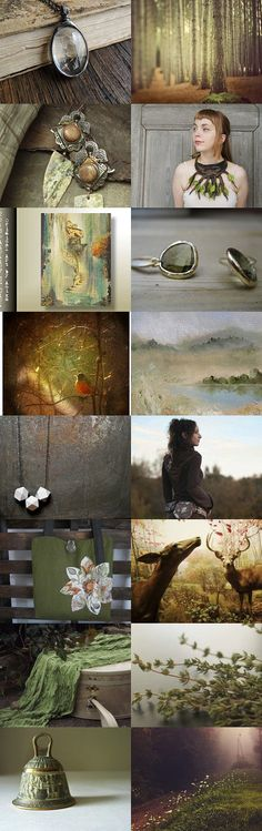 Woodland Enchantment by Dana Marie on Etsy--Pinned with TreasuryPin.com
