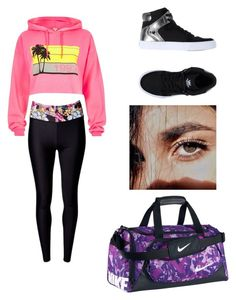 """Character Wardrobe // Little Dancer"" by radioactivenovas on Polyvore featuring River Island, Matthew Williamson, Supra and NIKE"