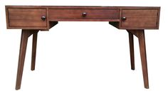 Jenice Wood Writing Desk